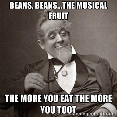 Beans the musical fruit